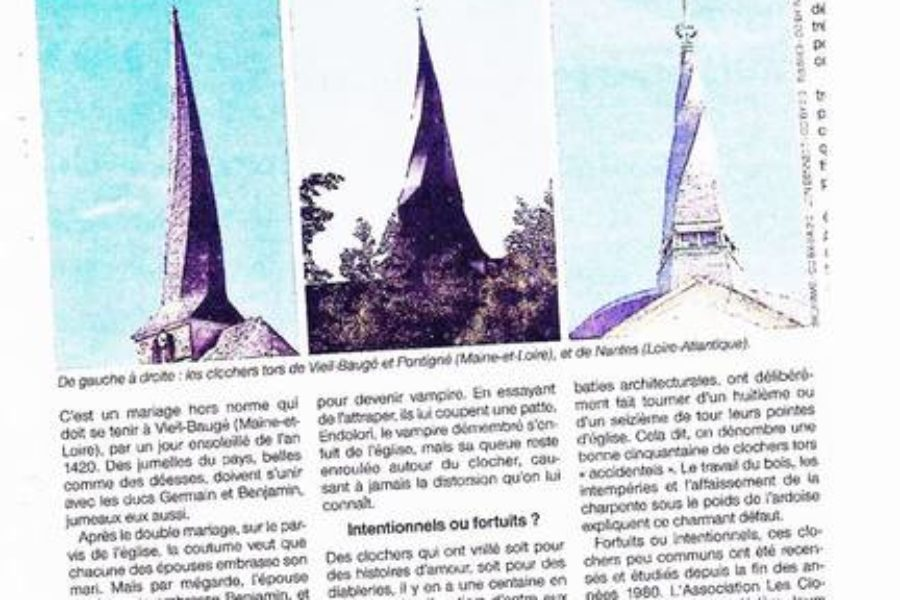 Le Baugeois dans Ouest France